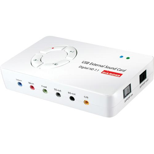 Diamond Xtreme Sound Digital 7.1 USB External Sound Card