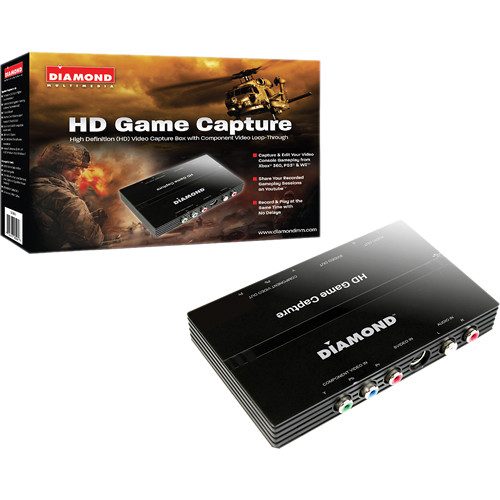 Diamond Multimedia USB 2.0 GC500 HD 1080i Game Console Video Capture Device