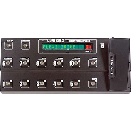 DigiTech Control 2 Remote Foot Controller