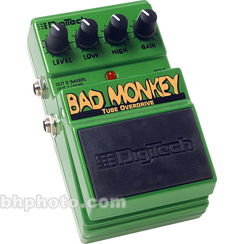 DigiTech Bad Monkey - Tube Overdrive Foot-Pedal