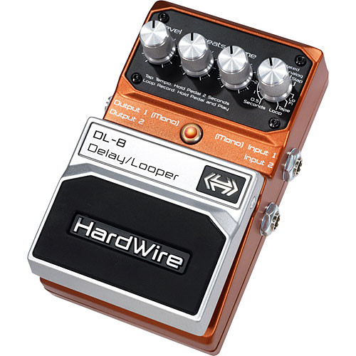 DigiTech DL-8 HardWire  Delay/Looper Stompbox Pedal