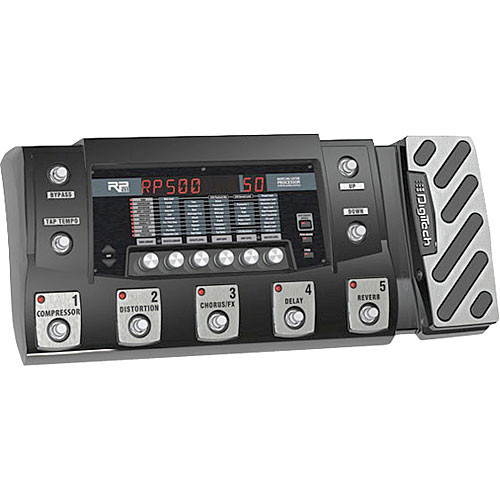 DigiTech RP500 Integrated Effect Switching System