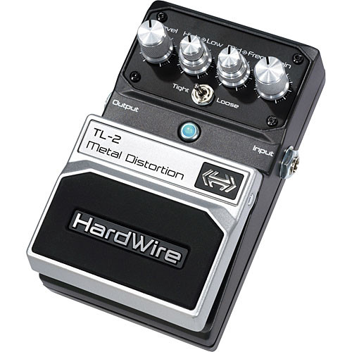 DigiTech TL-2  HardWire Metal Distortion Stompbox Pedal