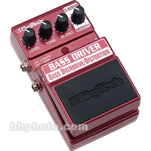 DigiTech Bass Driver Overdrive/Distortion Foot-Pedal