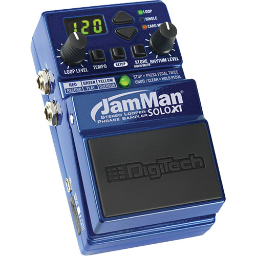 DigiTech JamMan Solo XT - Looper Pedal with USB and microSDHC Slot