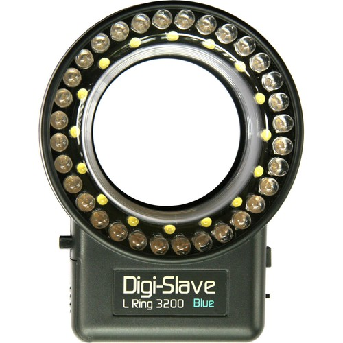 Digi-Slave L-Ring 3200 LED Ring Light (Blue)