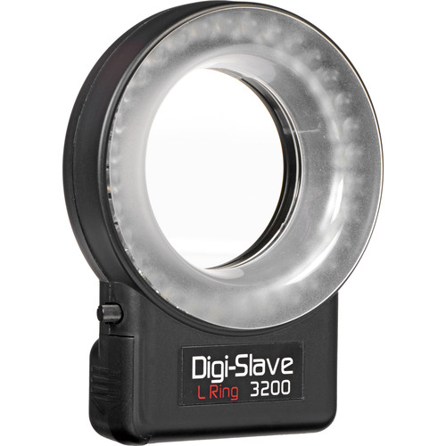 Digi-Slave L-Ring 3200D LED Ring Light with Diffuser