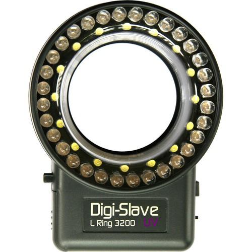 Digi-Slave L-Ring 3200 LED Ring Light (UV)