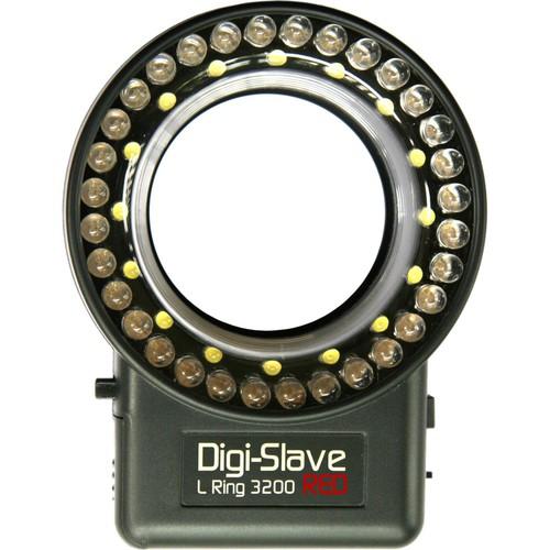 Digi-Slave L-Ring 3200 LED Ring Light (Red)