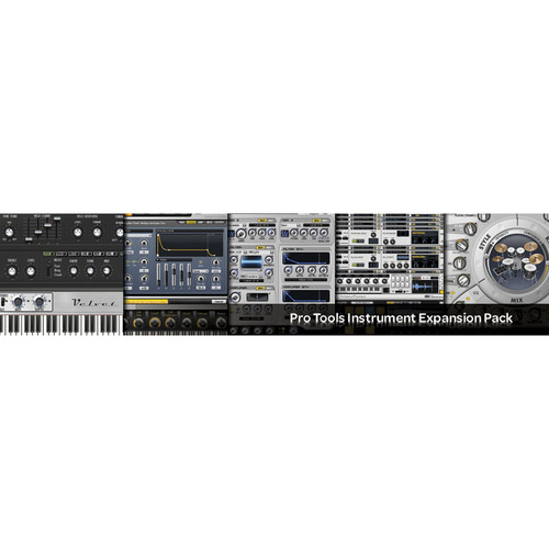 Digidesign Pro Tools Instrument Expansion Pack - Virtual Instruments Bundle