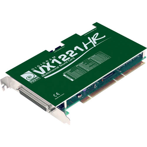 Digigram VX1221HR - PCI Universal Digital Audio Card