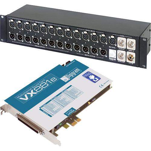 Digigram VX881e with BOB8
