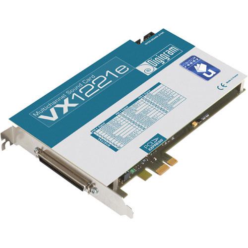 Digigram VX1221e - PCIe Digital Audio Card