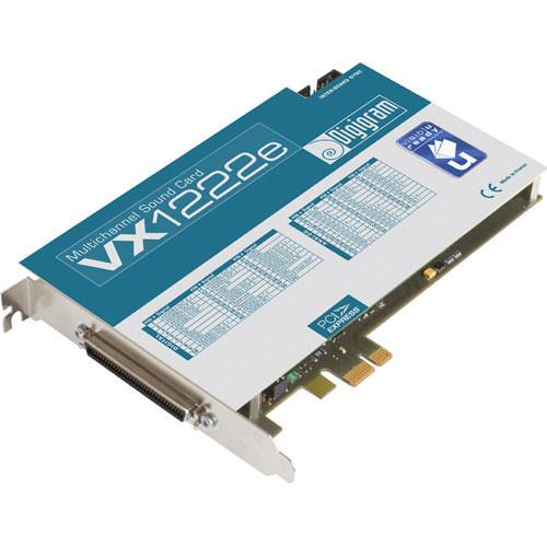 Digigram VX1222e - PCIe Digital Audio Card
