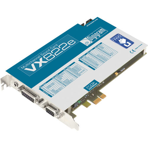 Digigram VX822e - PCIe Digital Audio Card