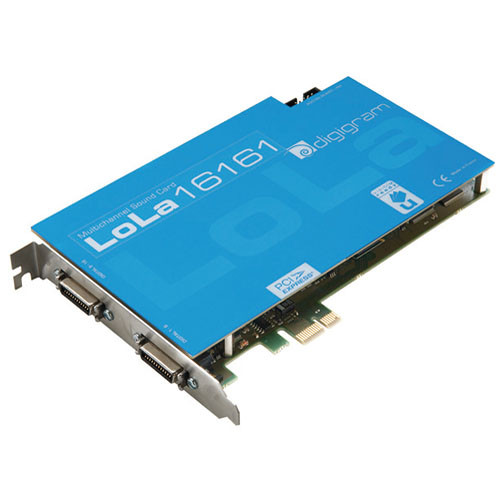 Digigram LoLa16161 - PCIe Multi-Channel Digital Audio Card with SRC
