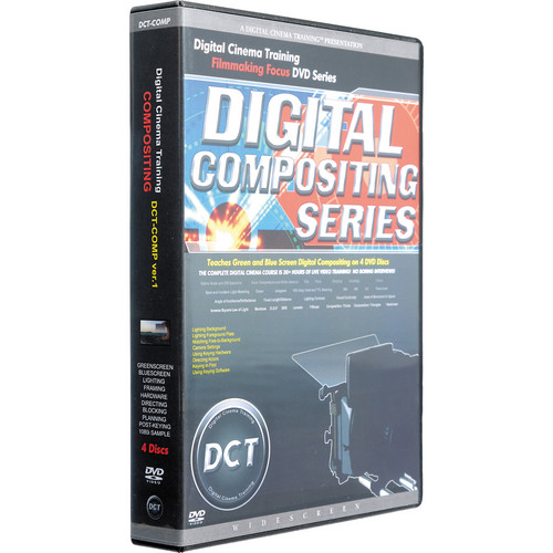Digital Cinema Training DVD: Compositing, DCT-COMP