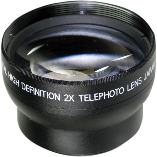 Digital Concepts 2.0x Telephoto Lens (37mm, Black)