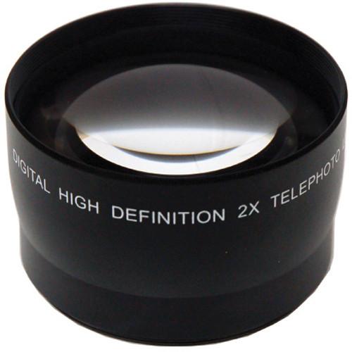 Digital Concepts 2x Telephoto Lens (55mm, Black)