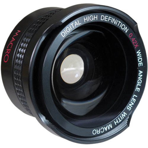 Digital Concepts 0.42x Wide-Angle Lens (37mm, Black)