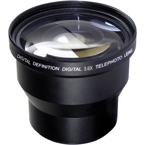 Digital Concepts 3.6x Telephoto Lens (52mm, Black)