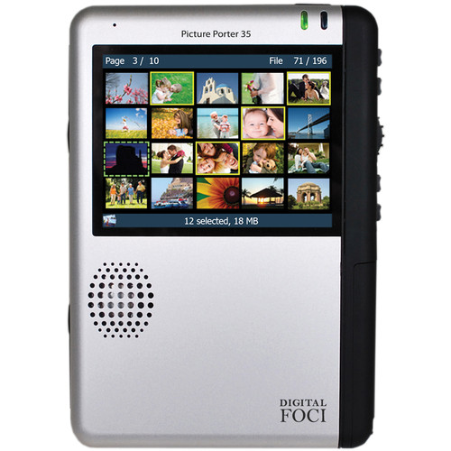 Digital Foci Picture Porter 35 500GB Internal Hard Drive Portable Digital Photo Manager