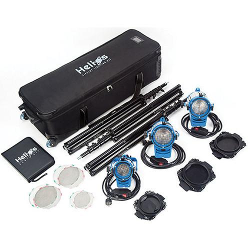 Digital Juice Helios 3-Point Lighting Kit with Scrim Kit