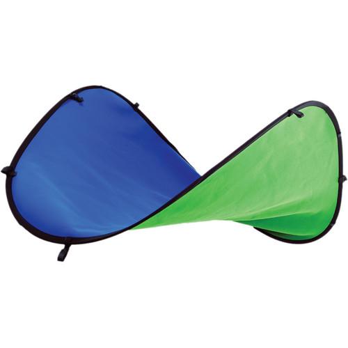 Digital Juice 5 x 7' Chroma Pop Portable Blue Green Screen Studio