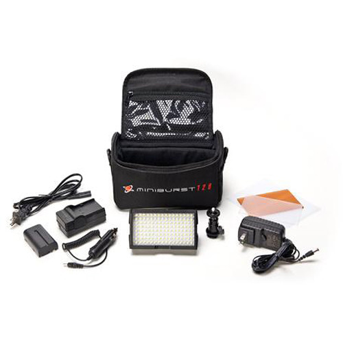 Digital Juice MiniBurst 128 LED Portable Video Light System