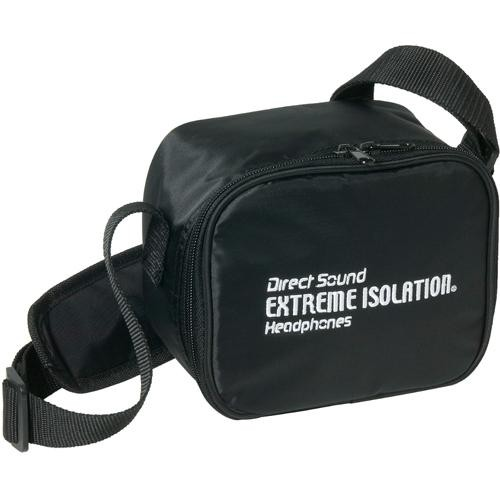 Direct Sound Headphones EX-CB1 Carrying Bag with Strap for Extreme Isolation Headphones