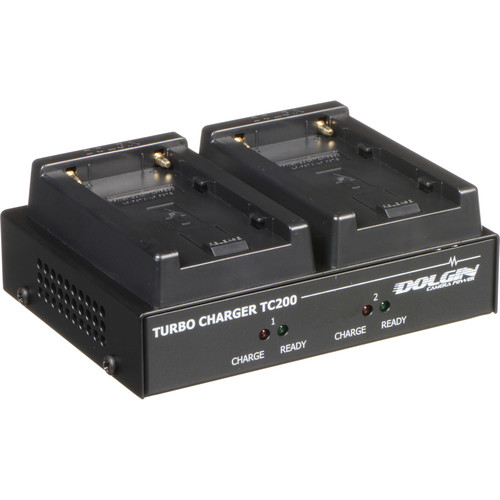 Dolgin Engineering TC200 Two-Position Simultaneous Battery Charger for Sony L-Series