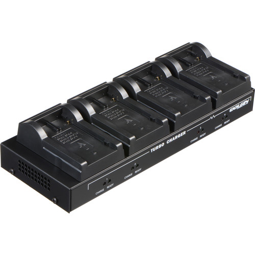 Dolgin Engineering TC40 Four-Position Simultaneous Battery Charger for Canon BP-900 Series