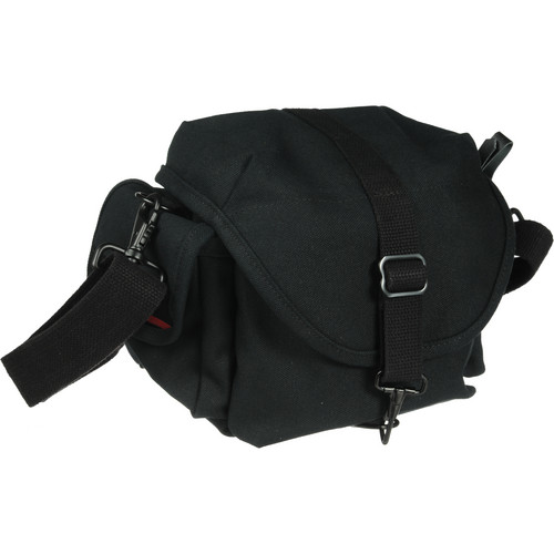 Domke F-8 Small Canvas Shoulder Bag (Black)