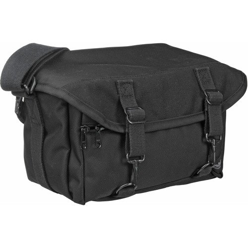 Domke F-6B Ballistic Shoulder Bag - for 1-2 Film or Digital SLR Cameras with 3-4 Lenses and Accessories (Black)