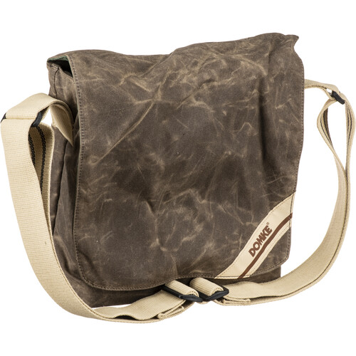 Domke F-831 Small Photo Courier Bag (Brown RuggedWear Waxed Canvas)