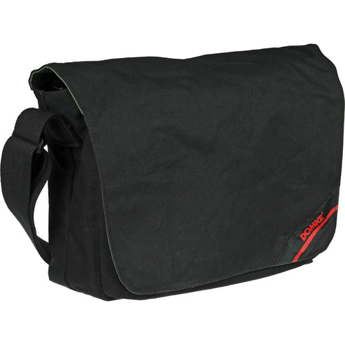 Domke Medium Messenger Bag (Black Canvas)