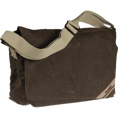 Domke F-833 Large Photo Courier Bag (Brown RuggedWear Waxed Canvas)