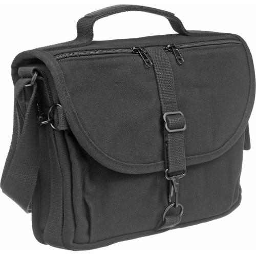 Domke F-802 Reporter's Satchel Shoulder Bag (Black)