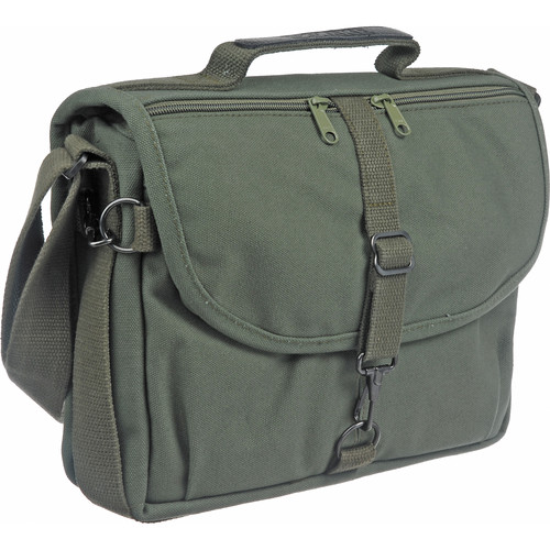 Domke F-802 Reporter's Satchel Shoulder Bag (Olive Drab)