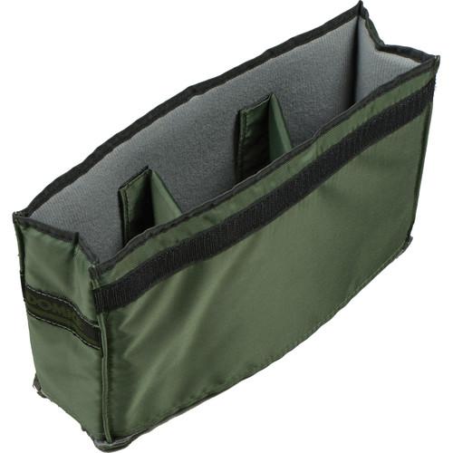 Domke FA-230 3-Compartment Insert (Gray/Green)