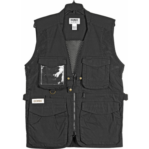Domke PhoTOGS Vest (Small, Black)