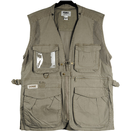 Domke PhoTOGS Vest (Large, Khaki)