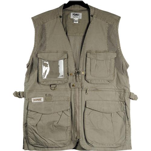 Domke PhoTOGS Vest (XX-Large, Khaki)