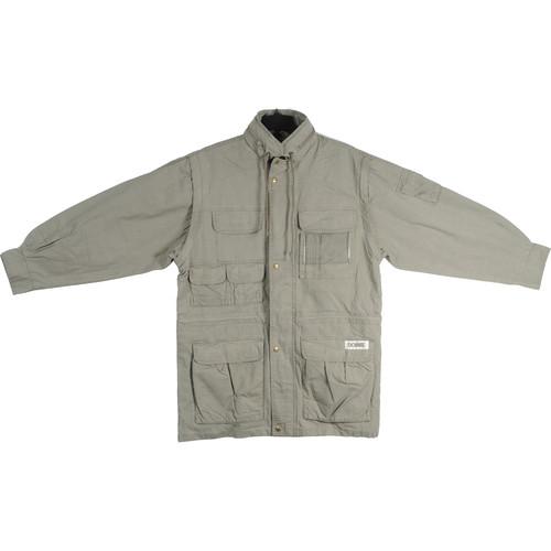 Domke Photogs Convertible Jacket/Vest, X-Large (Khaki)