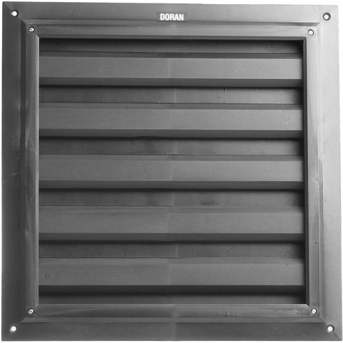 Doran L-1212 Light Tight Darkroom Louver for A-1212 Fans