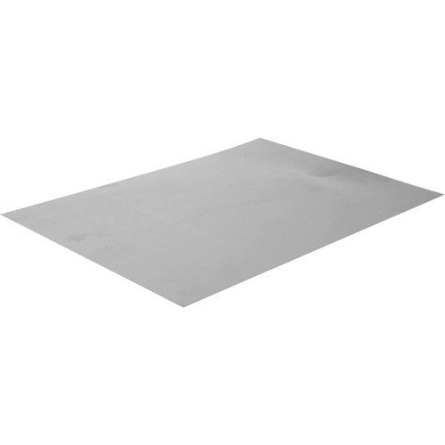 "Doran 12 x 17"" Ferrotype Plate (Bright  Chrome)"