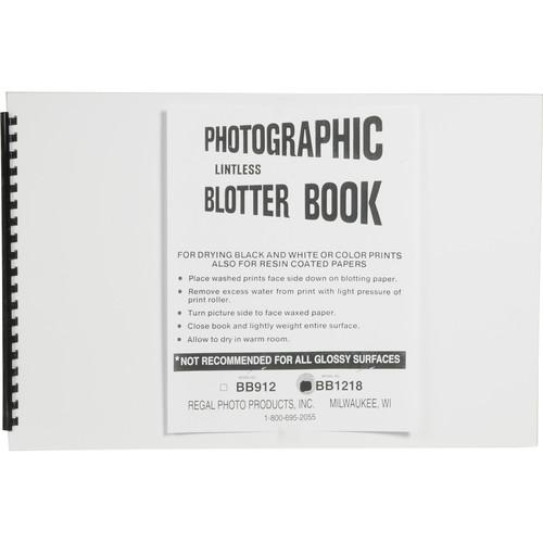 "Doran Blotter Book (12 x 18"")"
