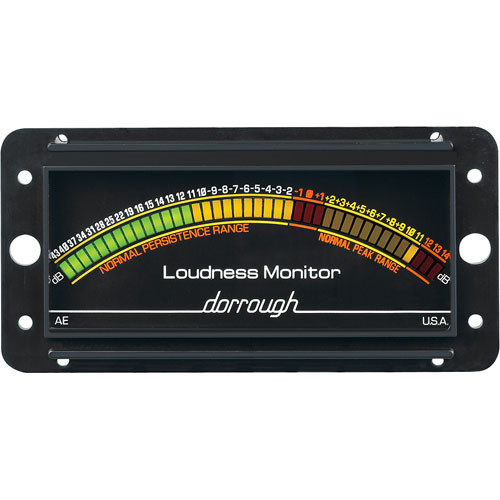 Dorrough Analog Loudness Meter + 43dB