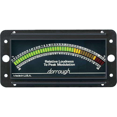 Dorrough 10-B Loudness Meter w/Percent Modulation