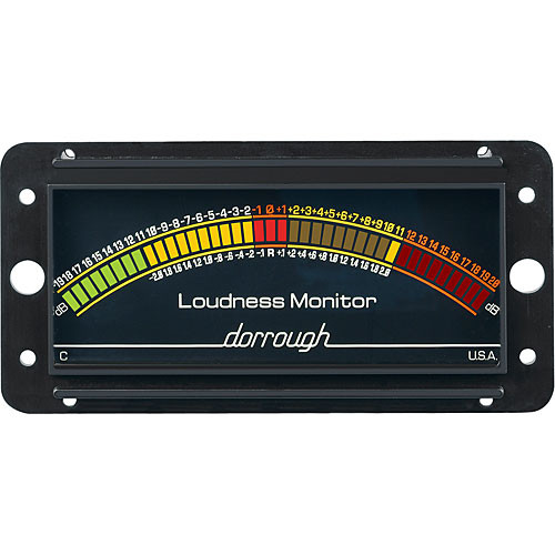 Dorrough Analog Loudness Meter +20dB